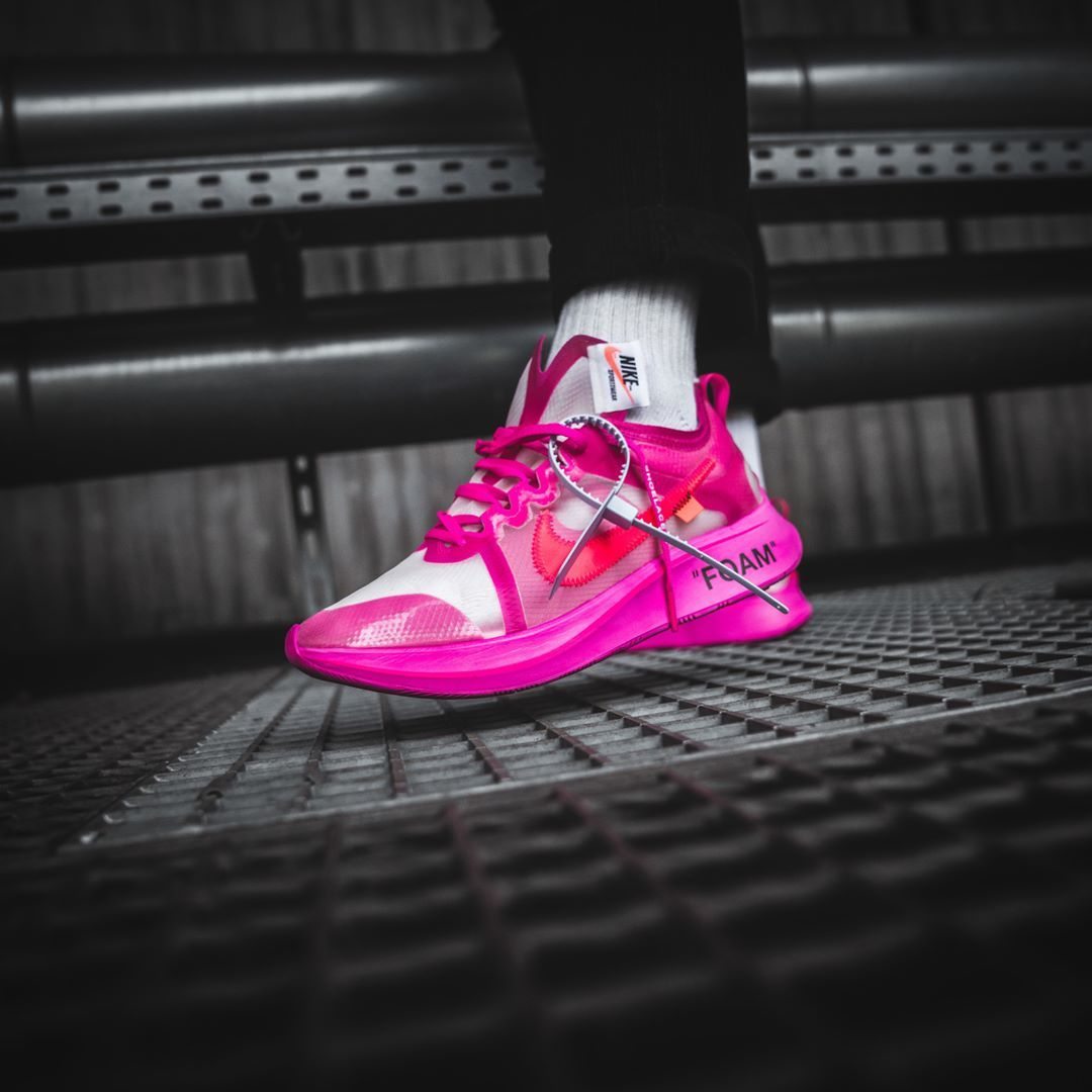 37c76382c56c Nike x Off-White Zoom Fly Black   Tulip Pink