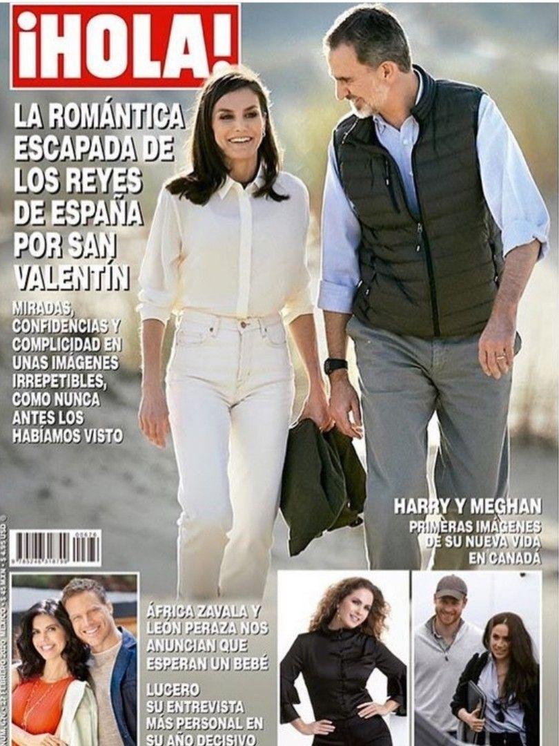 Pin De Natalia Lousek En Queen Letizia Los Reyes De España Edicion Digital Vida Imagenes