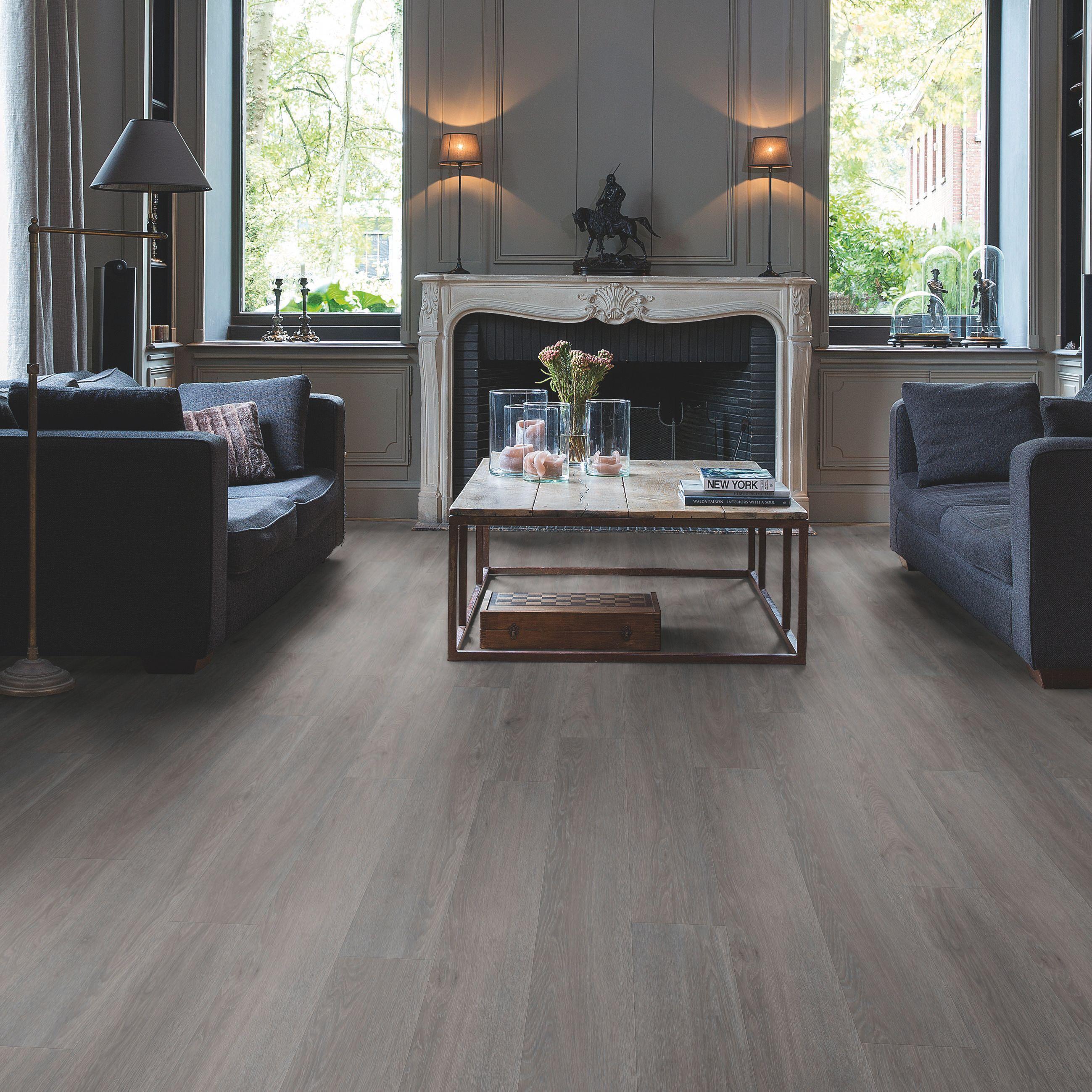 step paso dark grey oak effect waterproof luxury vinyl flooring tile