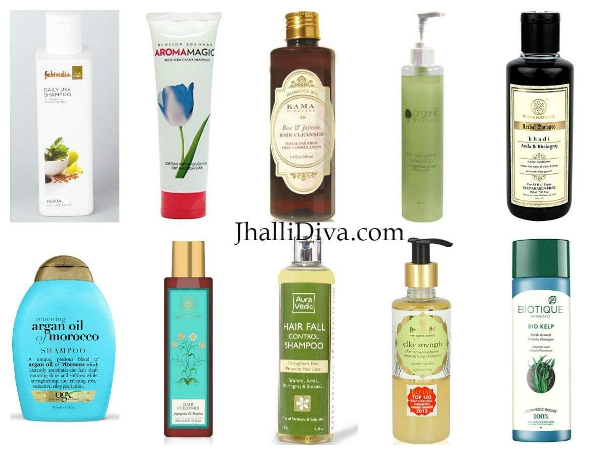 10 Best Organic Chemical Free Shampoos In India Chemical Free Shampoos Natural Organic Shampoo Organic Shampoo