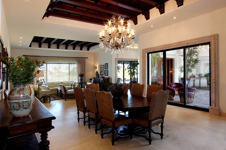 Casas Estilo Colonial Moderno Interiores