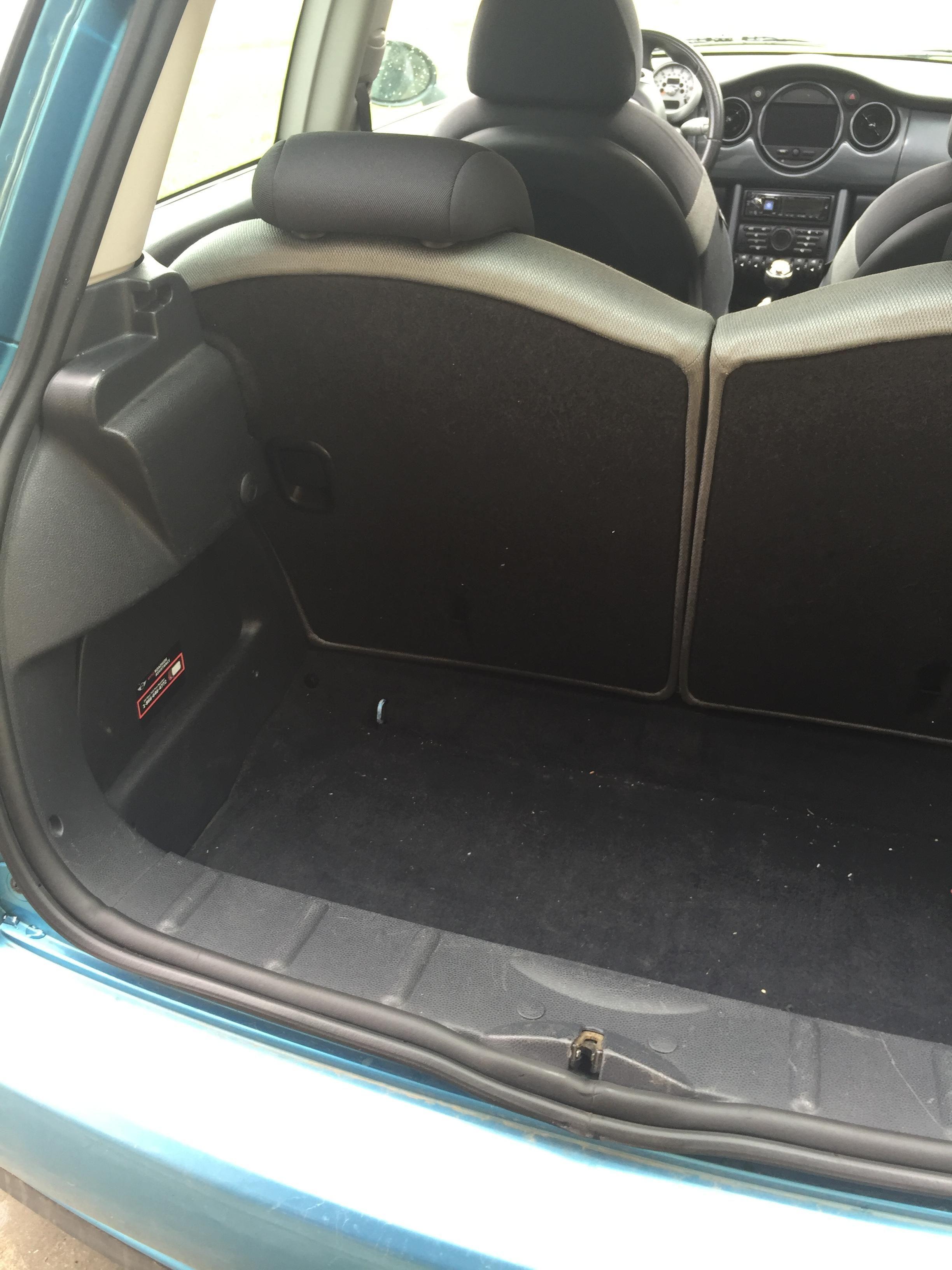 I Built A Fiberglass Sub Box For My R53 Mini Cooper Handmade Crafts Howto Diy Sub Box Mini Cooper Fiberglass