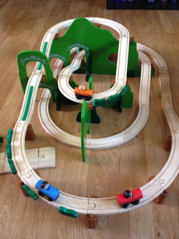 Plan toys trains grateful for