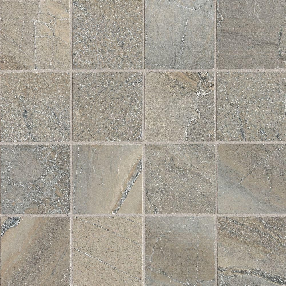Daltile Ayers Rock Majestic Mound 13 In X 13 In X 10 Mm Glazed Porcelain Mosaic Floor And Wall Tile 1 2 Sq Ft Piece Ay0433ms1p Wall Tiles Tiles Flooring