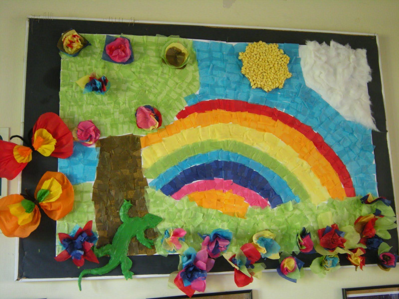 Murales primavera (7 | Murales, Imagenes educativas y Primavera