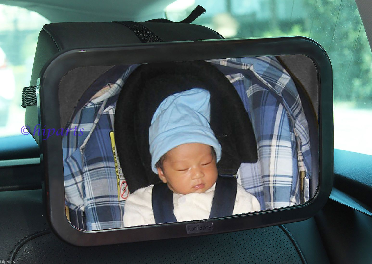 Baby Car Seat Rear View Mirror Facing Back Infant Kids Child Toddler
