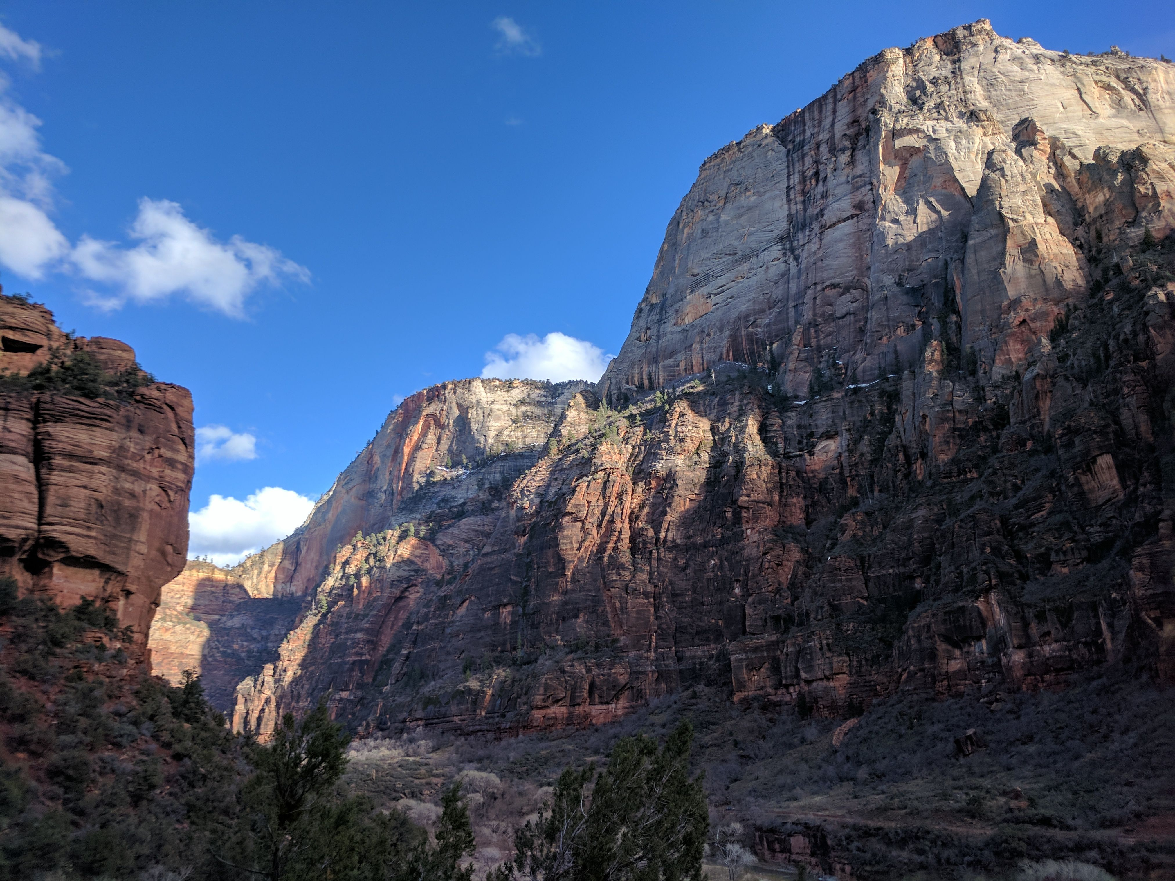 Taken On The Way Back From Angels Landing In Zion National Park