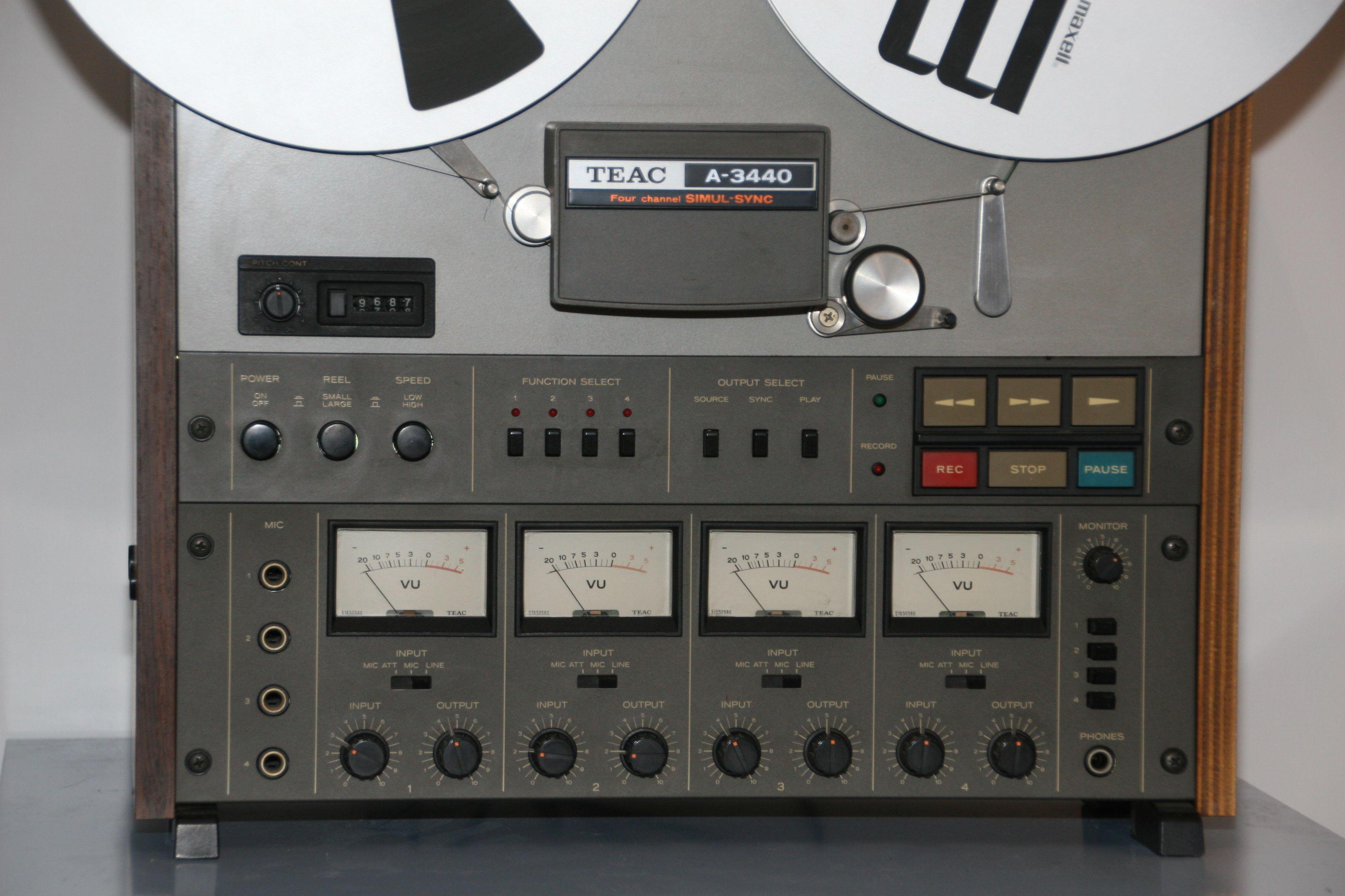 Teac A3440 audiozolder.nl