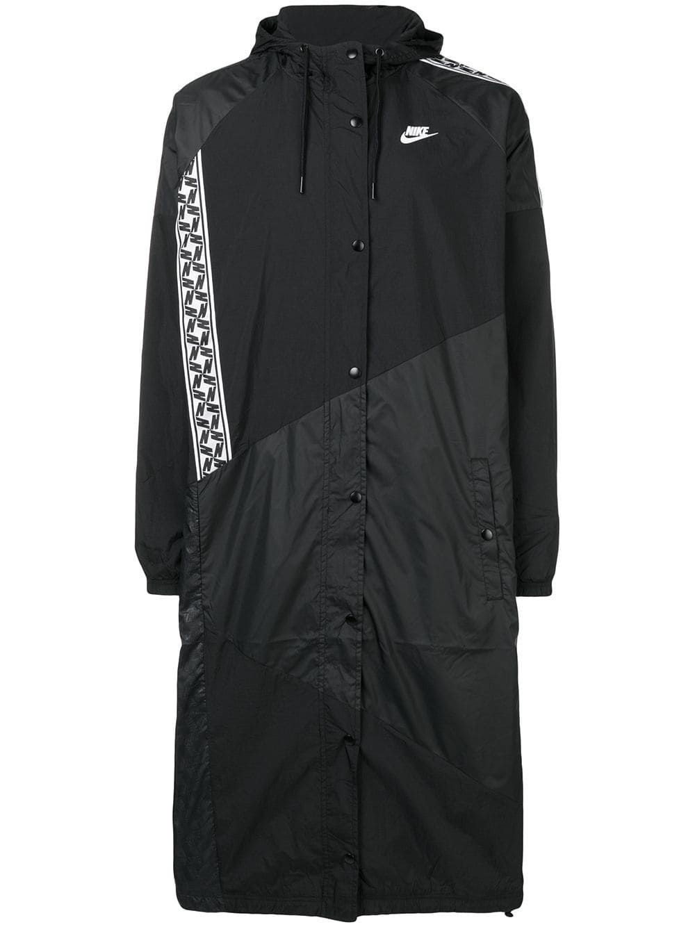 595d57d1fa4e NIKE NIKE WOVEN LONG JACKET - BLACK.  nike  cloth
