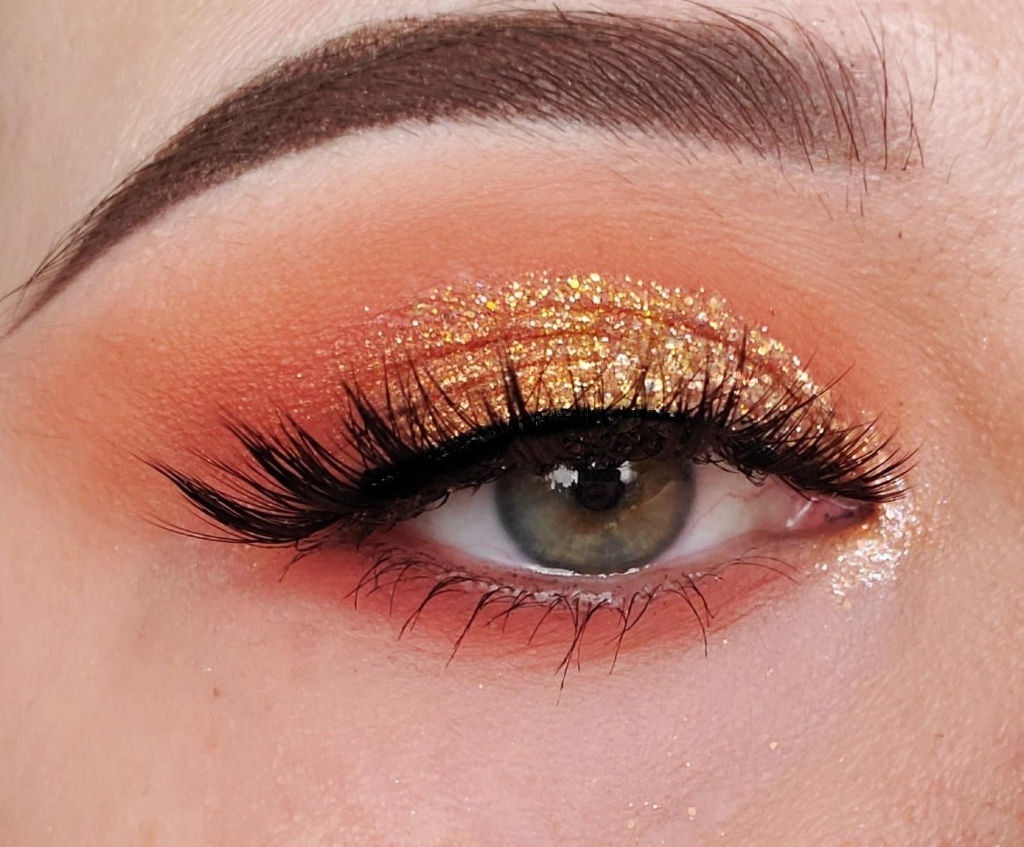Glitter eye with Colourpop's Sweet Talk Palette