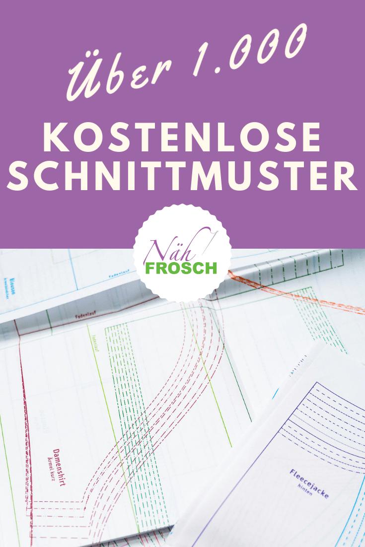 Photo of Über 1.500 kostenlose Schnittmuster, Nähanleitungen und Freebooks