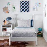 Dwellstudio Mid Century French White Twin Bed Dwell Studio