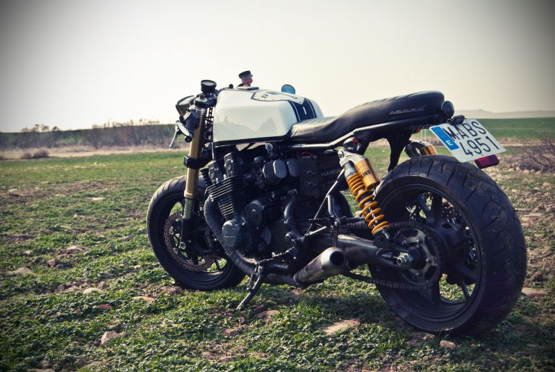 Honda CB750 Nighthawk Cafe Racer By Dogma Motorcycles