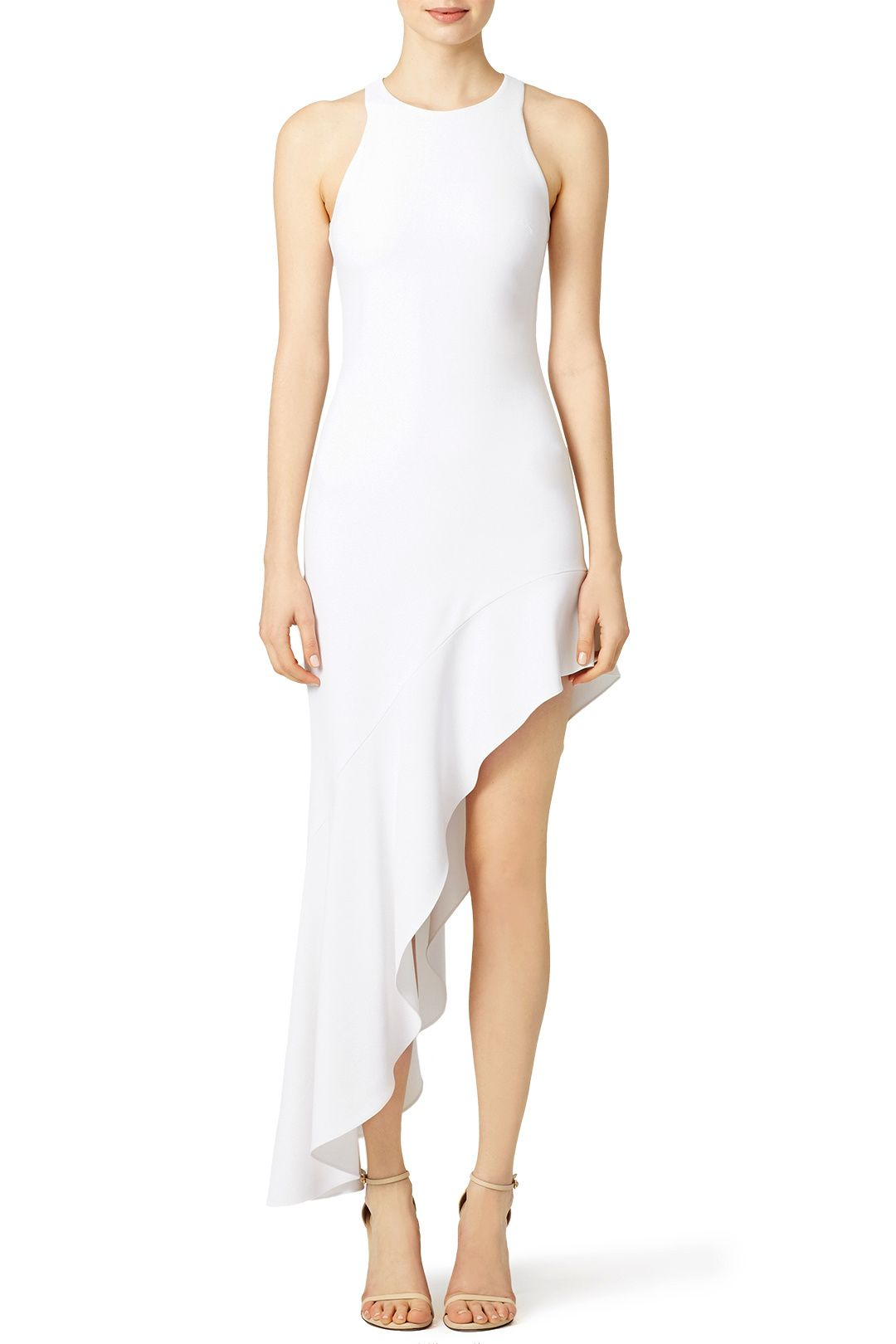 White Wisp Gown by Cushnie Et Ochs for   Rent the Runway