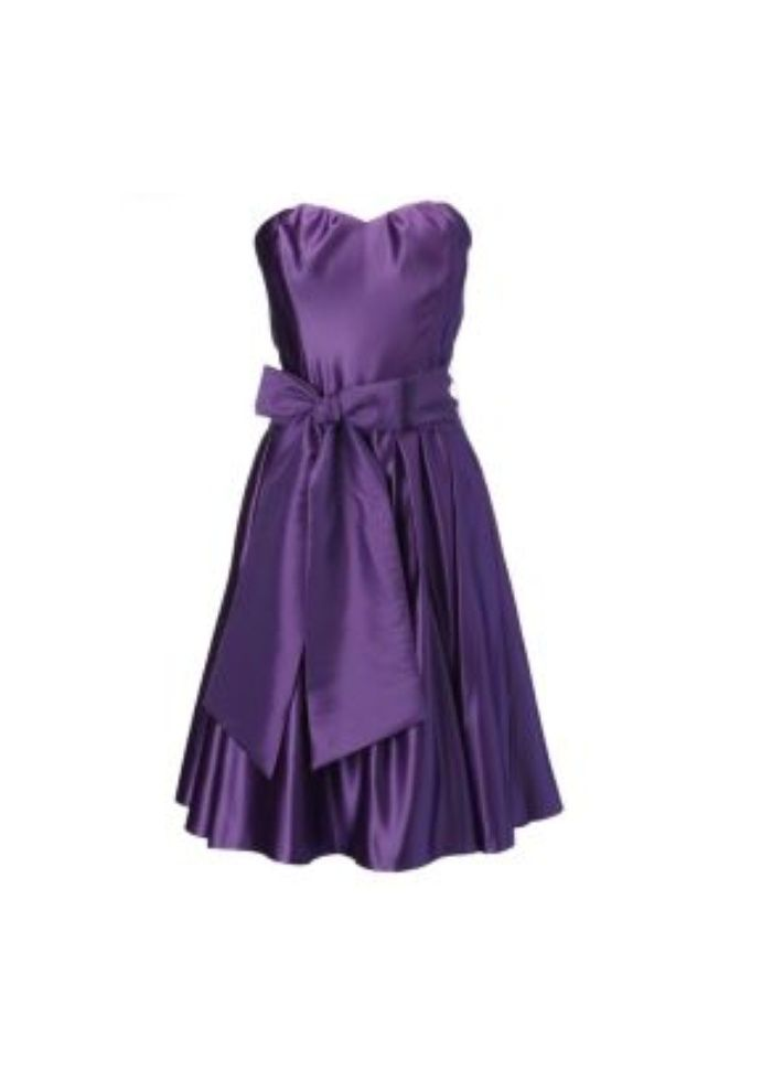 Lavender Beach Bridesmaid Dresses | Juliette Purple Short Satin ...