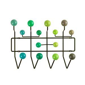 CASANOVA Møbler — Eames - Hang It All knagerække - grønne toner