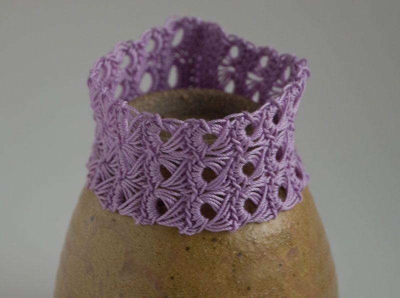 10 Fabulous and Free Crochet Bracelets | Crochet bracelet pattern ...