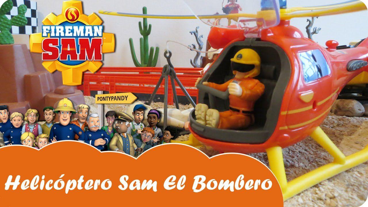 Helicóptero Rescate Juguetes Fireman Sam El Bombero Mundo Juguetes Videos De Juguetes En Español Mundo Juguetes Bomberos Sam El Bombero