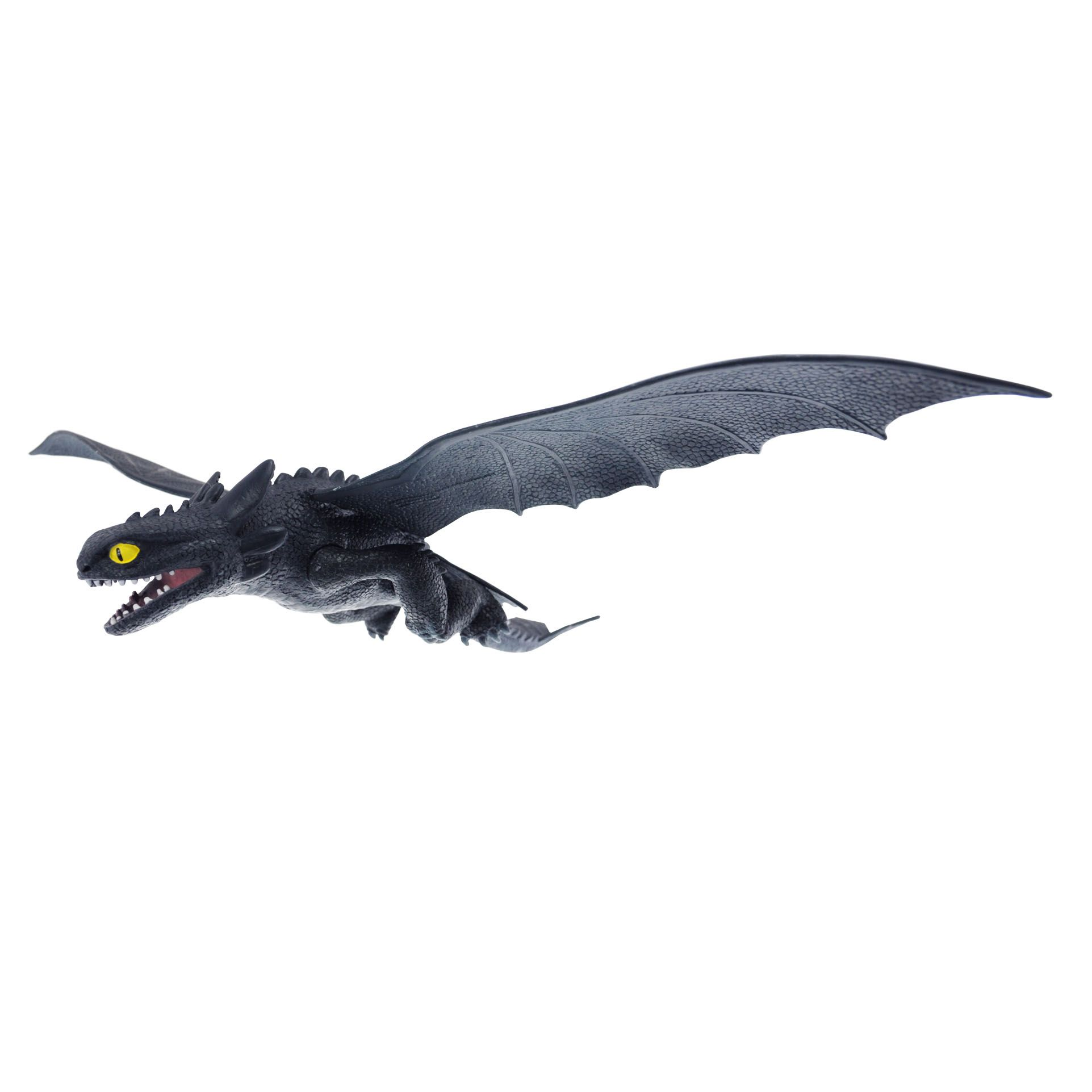 Toothless Night Fury Plastic Toy How to train your Dragon