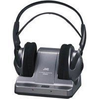 JVC HAW600RF 900MHZ Wireless Headphones - Black - List price: $79.95 Price: $50.00