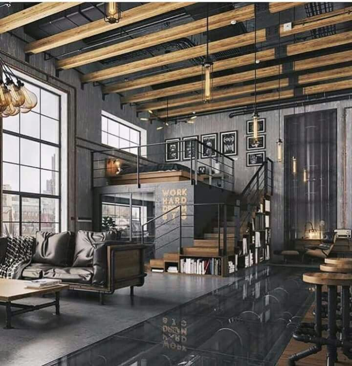 Industrial Bedroom Decor: Houses And Interiors In 2019