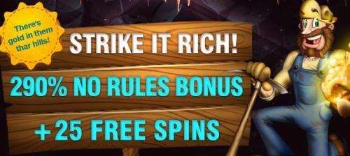 No Rules Casino Bonuses