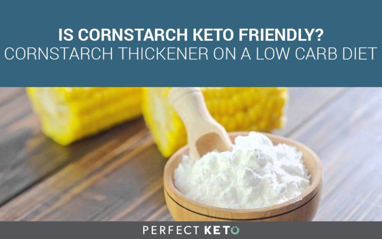 corn strach on keto diet