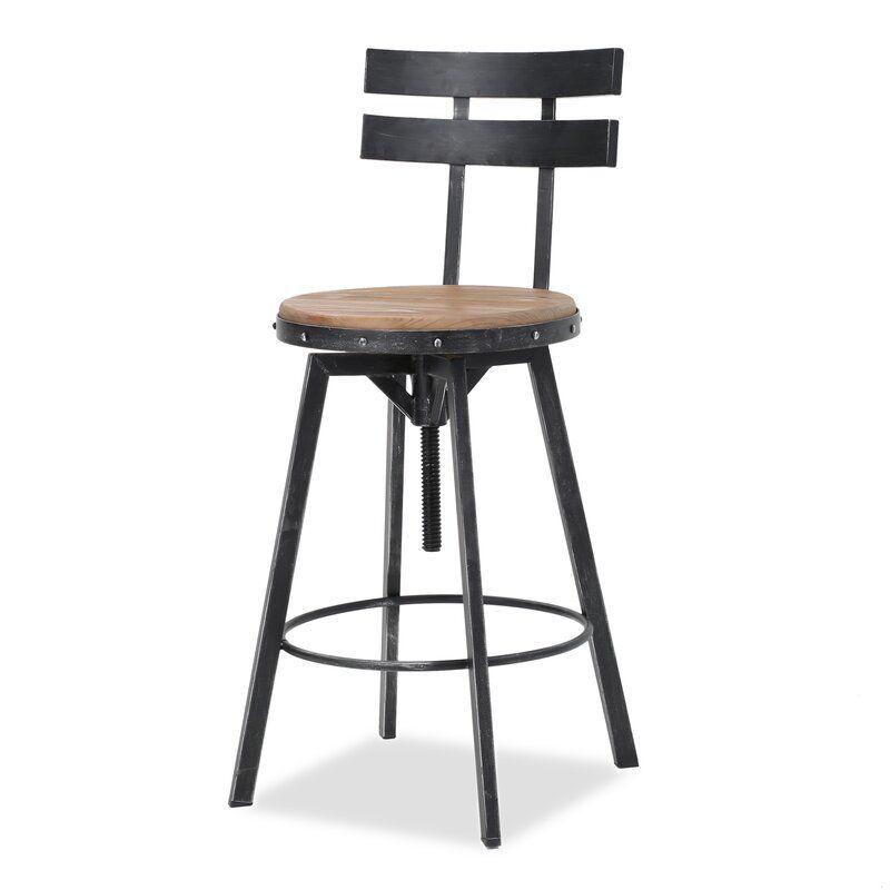 Fantastic Sylvania Adjustable Height Swivel Bar Stool Bar Design In Gamerscity Chair Design For Home Gamerscityorg