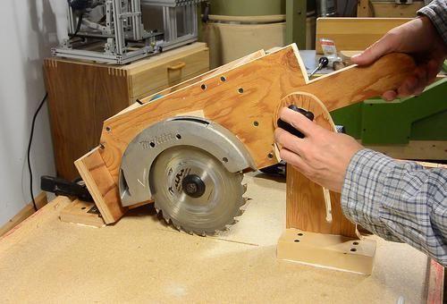 كيفية عمل منشار طاولة Homemade Tables Table Saw Diy Table Saw