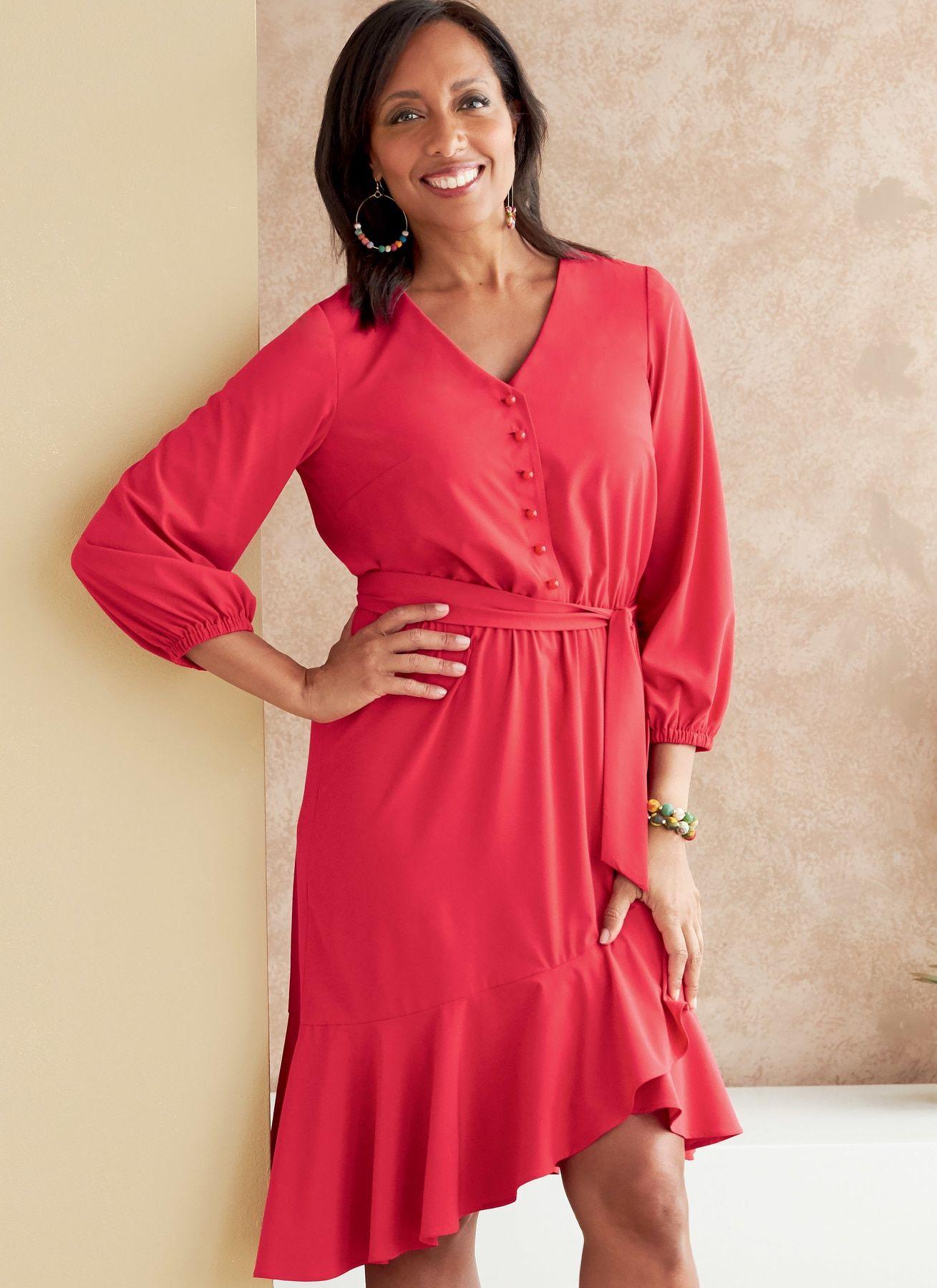 Mango knotted wrap dress - ohhh yes! | Latest fashion clothes, Dresses, Wrap dress
