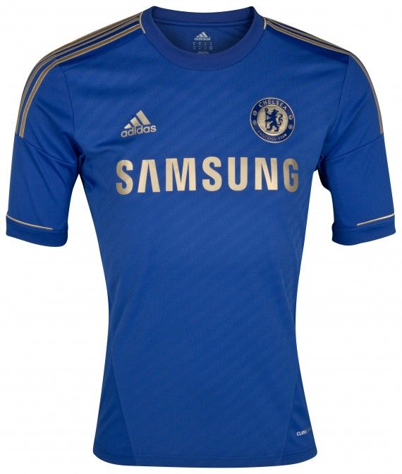 44cb1bcc424 New Chelsea 12/13 Home Jersey | Football | Football shirts, Chelsea ...