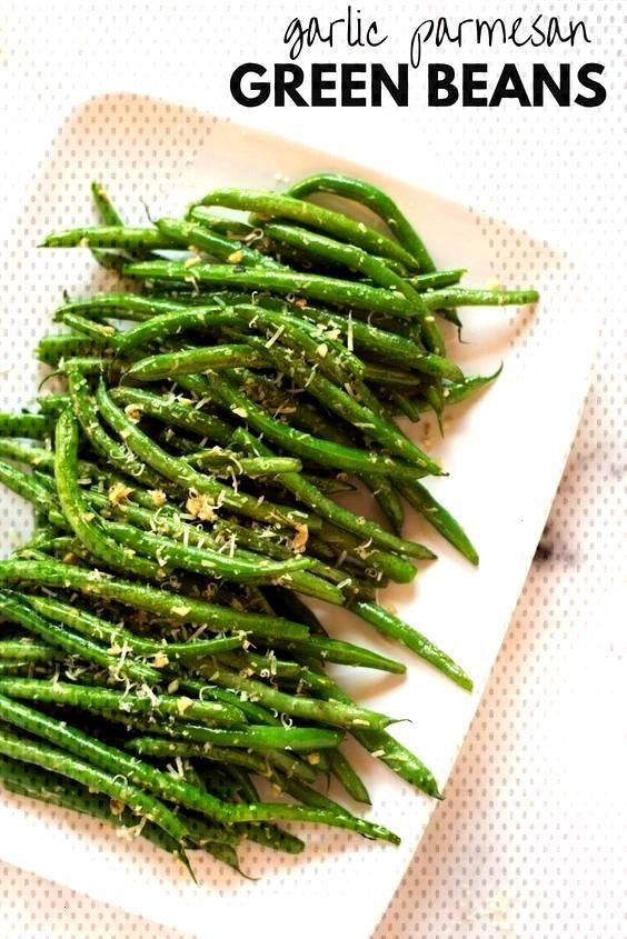 Garlic Parmesan Green Beans -