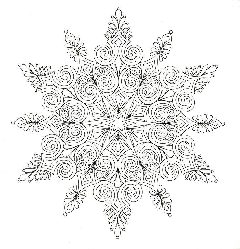 Christmas to Color | Mandala coloring pages, Mandala dots ...
