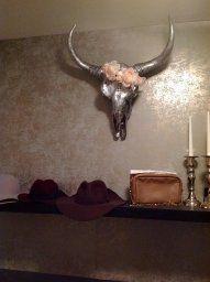 Embellished Xl Cow Skull Animal Skulls Jewelled Skull Buffalo