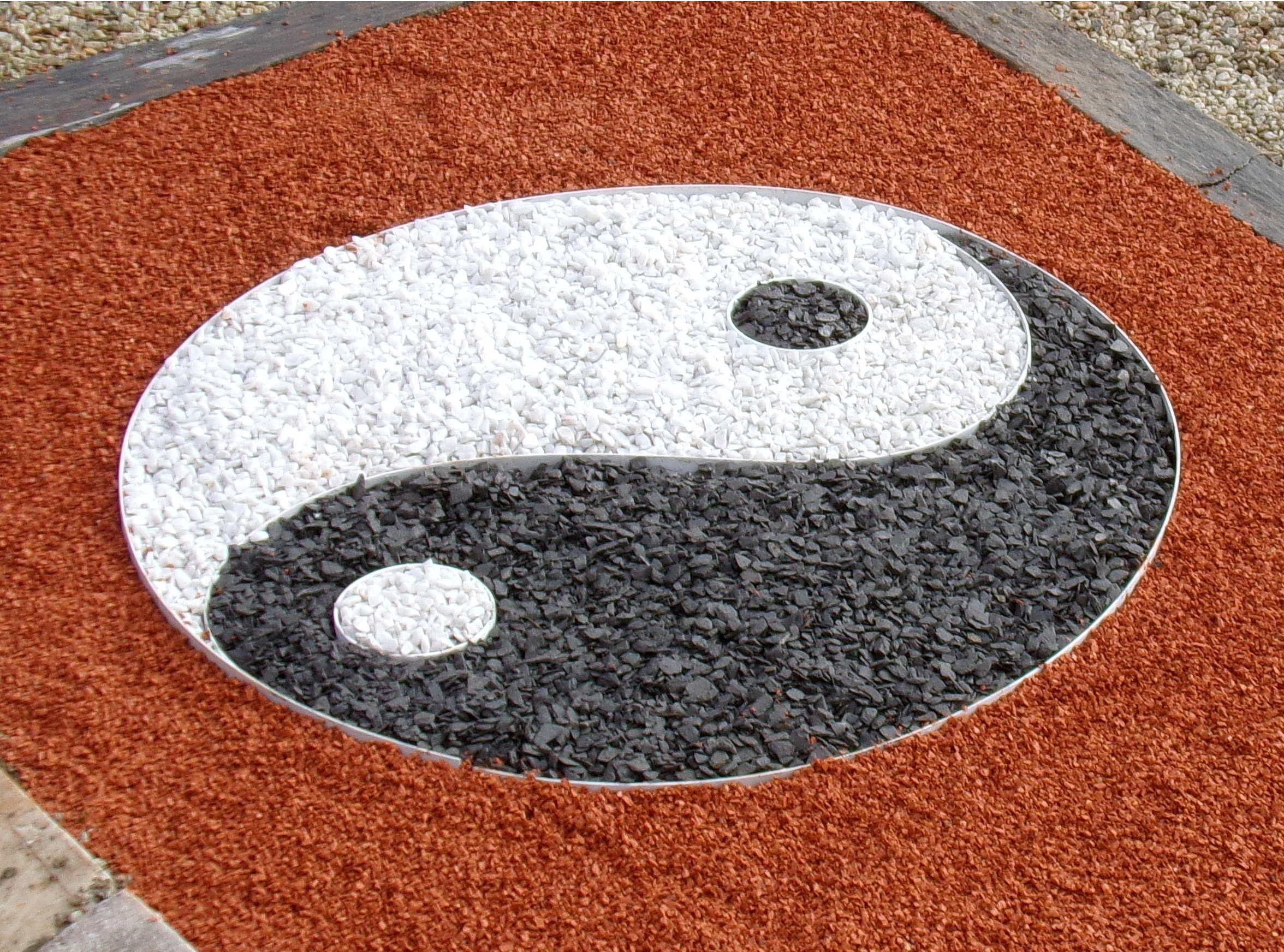 Yin Yang De Jardin En Kit Complet Yin Yang Jardinzen