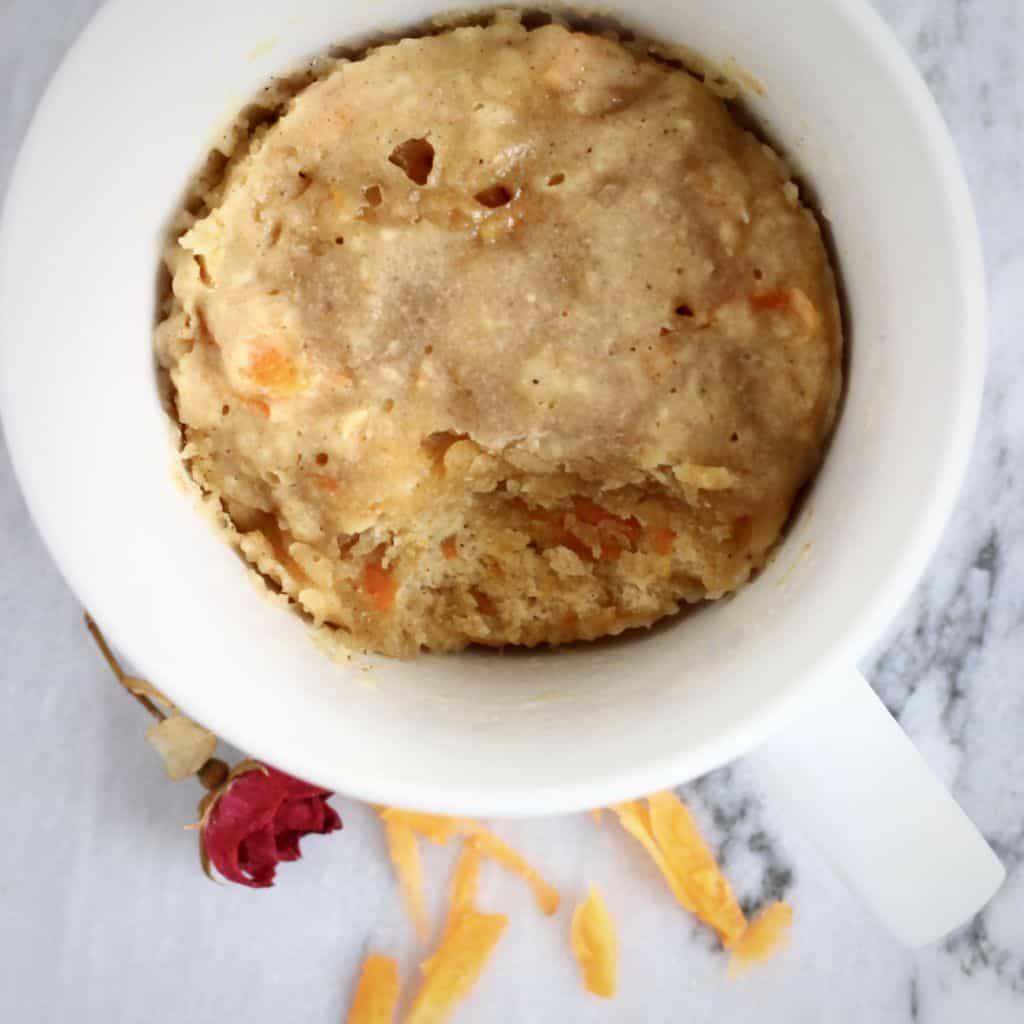 Vegan Carrot Cake Mug Cake   Mug recipes, Vegan mug cakes ...