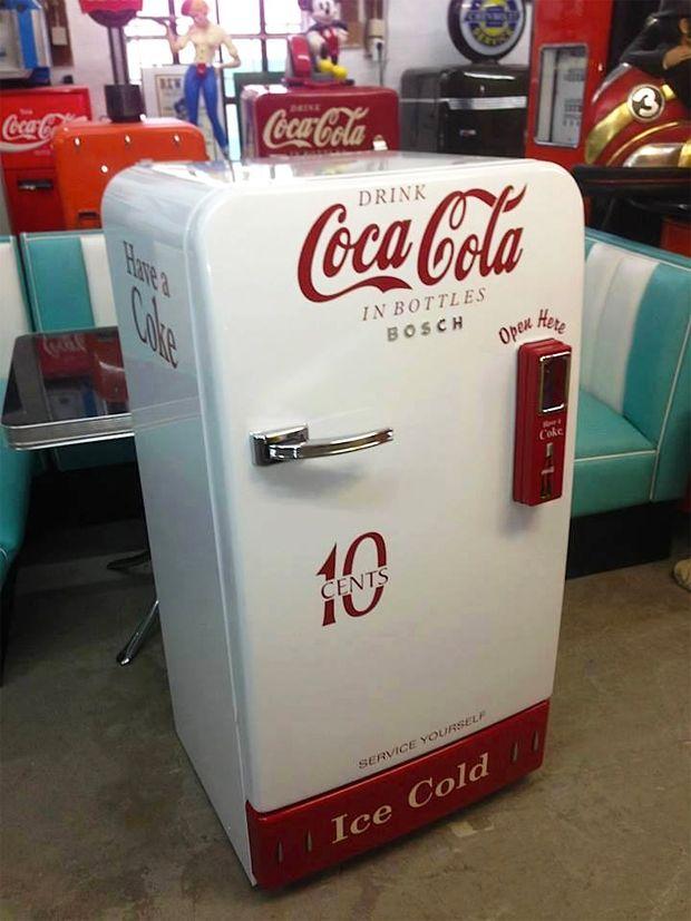 Vintage Coca Cola Cooler Nevera Antigua Coca Cola Pinte