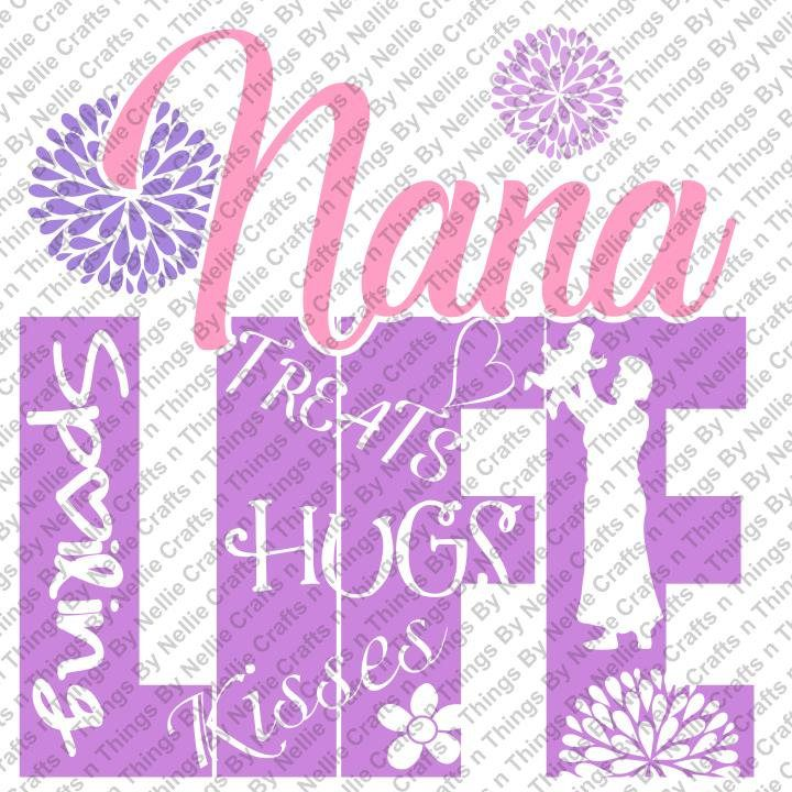 Download Nana Life SVG by CraftsnThingsByNelly on Etsy (With images ...