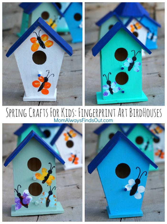 Thumbprint Art For Kids Painted Flower Pots Craft Crafts