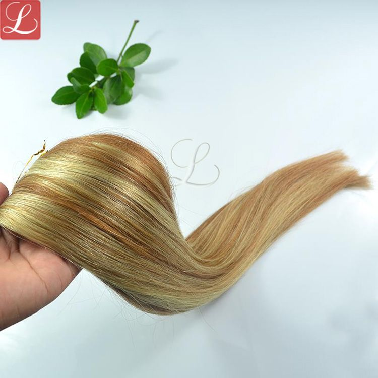 Mix Color Human Hair Weave Top Quality Human Hair Extensions On