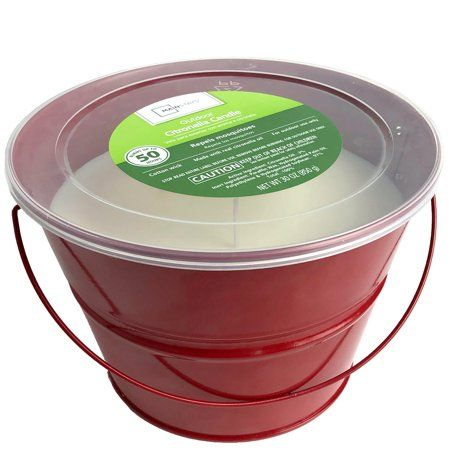 Household Essentials Citronella Citronella Candles Natural