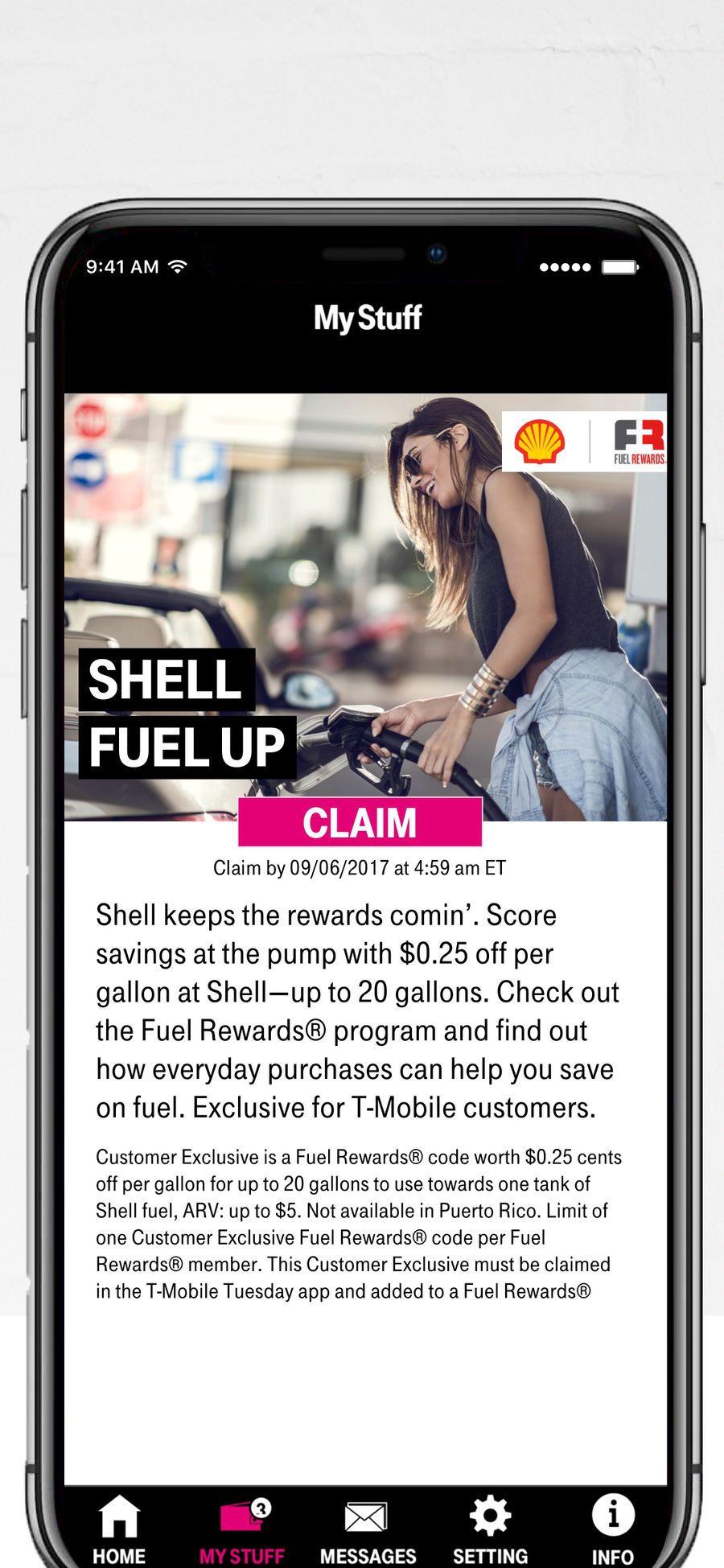 T Mobile Tuesdays Ios Apps App Entertainment Fuel Rewards