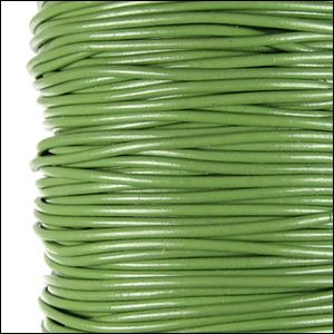 http://www.primitivearthbeads.com/Greek-Leather-Cord-19mm-per-foot-dyed-GRASS-GREEN_p_16761.html