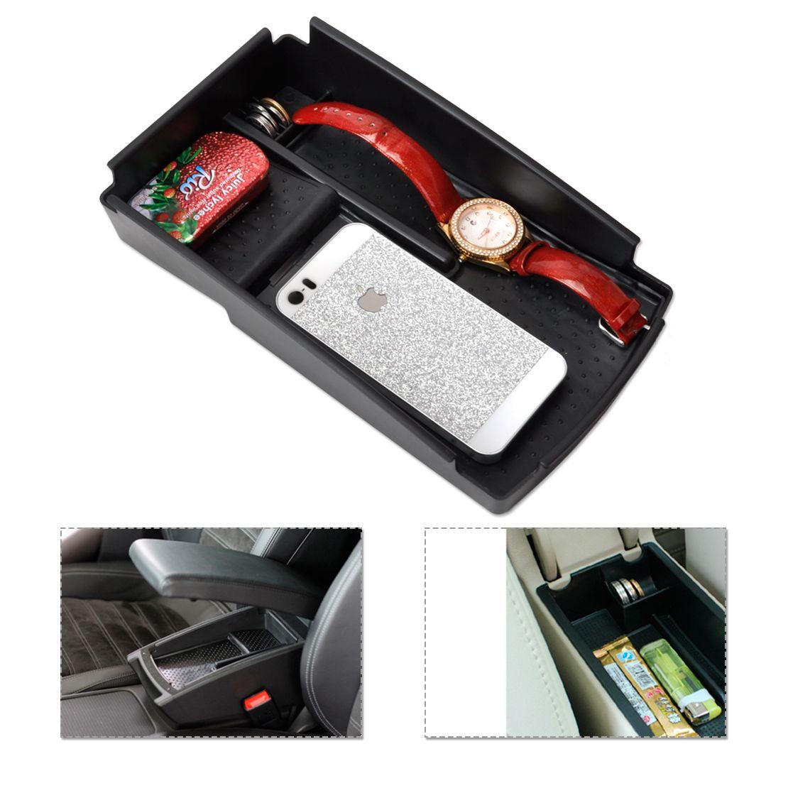 DWCX 1pc ABS Plastics Car Glove Box Armrest Box Secondary
