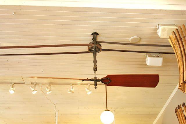 Belt-driver ceiling fans