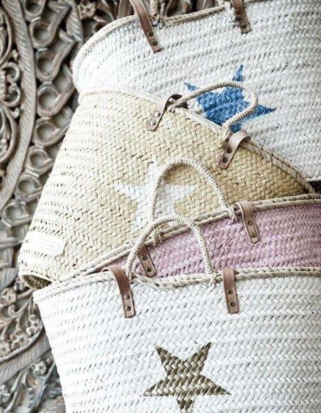 panier souple en osier sacs cabas et paniers by. Black Bedroom Furniture Sets. Home Design Ideas