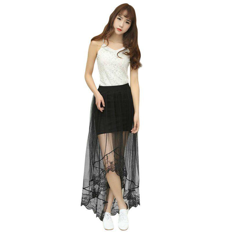 4964a29b41ab Encontrar Más Faldas Información acerca de Summer Fashion Women ...