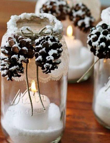 Ho ho ho weihnachten kann kommen tolle ideen f r festliche tischdekorationen winterdeko - Weihnachtlich dekorieren ab wann ...