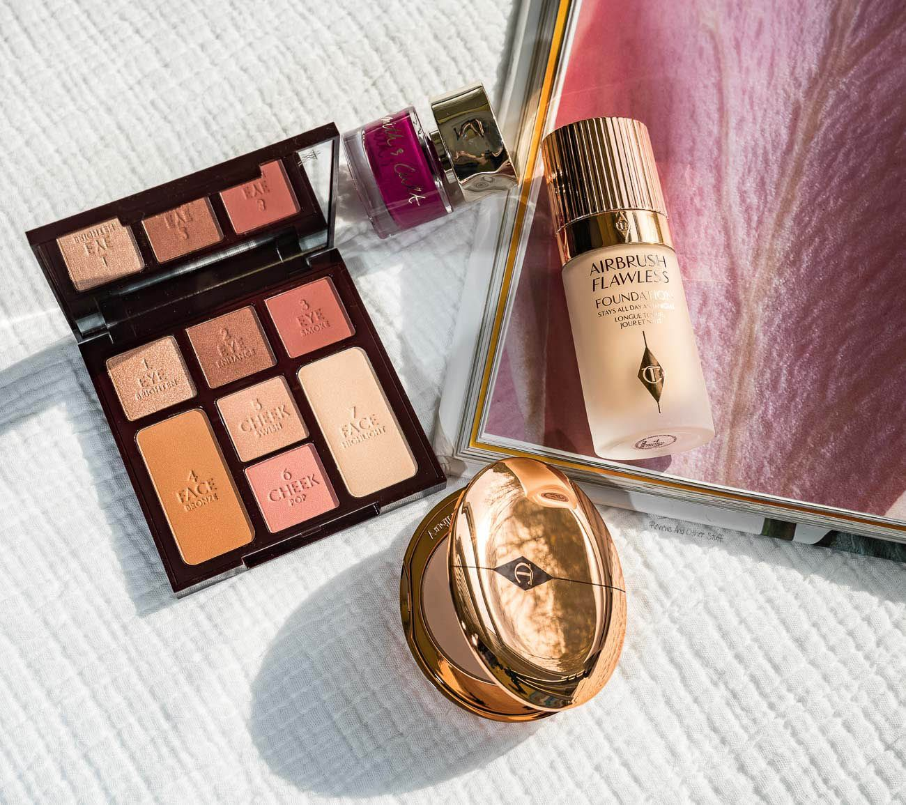 Charlotte Tilbury Instant Look In A Palette Gorgeous Glowing Beauty Review Swatches Reviews And Other Stuff Beauty Review Beauty Compact Complete Makeup