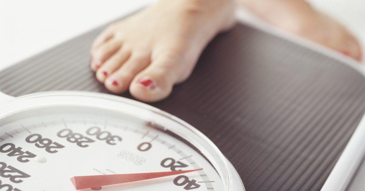 Efectos secundarios de comer muy pocas calorías